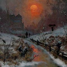 Немецкий художник Heinrich Gogarten (1850 - 1911).. Обсуждение на LiveInternet - Российский Сервис Онлайн-Дневников