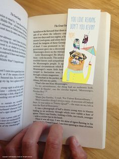 brainboxcandy.com - Love Reading Nope - WILDSTYLE Magnetic Bookmark, £2.24 (http://www.brainboxcandy.com/love-reading-nope-wildstyle-magnetic-bookmark/)