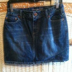 American Eagle Denim Skirt Sz 2 American Eagle Denim Skirt, Sz 2 American Eagle Outfitters Jeans
