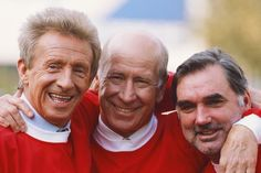 Law, Charlton and Best - the United trinity