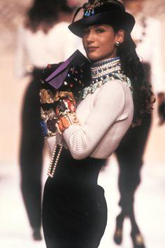 Karl Lagerfeld Runway Show FW 1988  - Marpessa