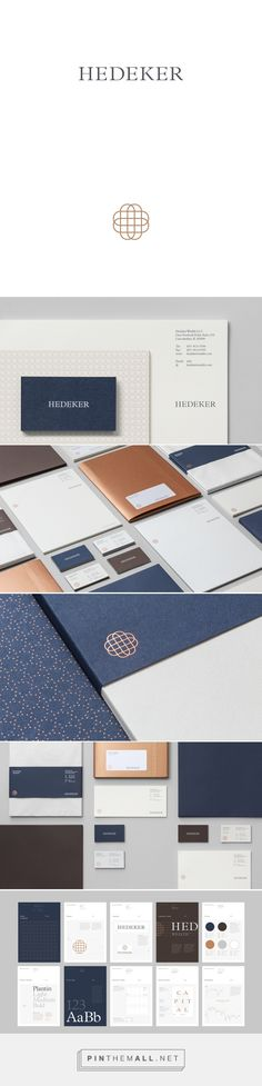 Hedeker Wealth & Law on Behance #branding #design #identity