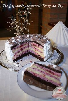 Hungarian Recipes, Blueberry Cheesecake, No Bake Cake, Fudge, Sweet Recipes, Dessert Recipes, Food And Drink, Favorite Recipes, Sweets