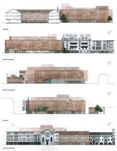 Image on Archisquare • Architettura Design Blog  http://www.archisquare.it/eduardo-souto-de-moura-m9-un-nuovo-museo-per-una-nuova-citta-mestre/