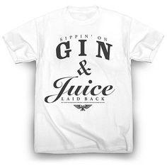 Snoop Dogg Gin and Juice Shirt Tupac Dr. Dre Nate Dogg Kendrick Lamar 2pac
