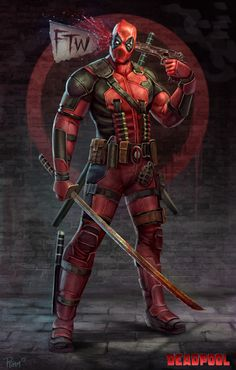 Deadpool FTW Created by Andy Timm