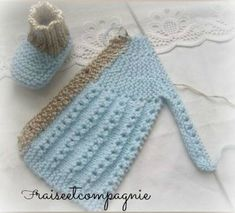 Free Knitting Pattern For Premature Baby - Diy Crafts - Marecipe Diy Crafts Knitting, Knitting For Kids, Baby Knitting Patterns, Knitting Stitches, Knitting Designs, Free Knitting, Crochet Patterns, Tricot Baby, Baby Pullover