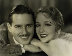 Portraits of Bebe Daniels and Ben Lyon from their home in Santa Monica by Elmer Fryer. Silent Film Stars, Movie Stars, Child Actresses, Actors & Actresses, Classic Hollywood, In Hollywood, Pamela Tiffin, Bebe Daniels, Hollywood Forever Cemetery
