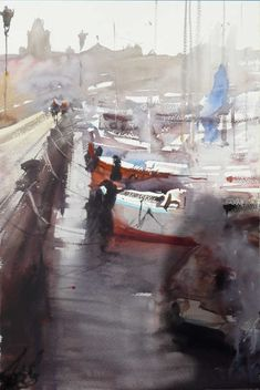 Alvaro Castagnet, 1954 ~ Watercolor painter #watercolor jd