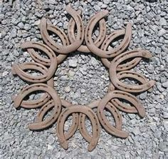 Horseshoe Sun - I wonder how hard it would be to find horseshoes... Hmmm...