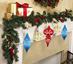 Christmas Ornament Holiday Garland