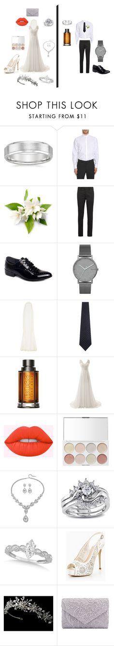 """Wedding day"" by caca-bouda on Polyvore featuring mode, Lanvin, Prada, Skagen, Rime Arodaky, Bigi Cravatte, BOSS Hugo Boss, Lime Crime, Miadora et Allurez"