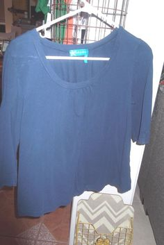 d0c82f803c8 FRESH PRODUCE LONG SLEEVE TOP BLUE WITH GATHERINGS AT NECKLINE SIZE XS # fashion #clothing #shoes #accessories #womensclothing #tops (ebay link)