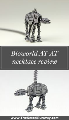 Bioworld AT-AT necklace review - The Kessel Runway
