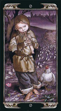 The Fool - Ludy Lescot Tarot by Patrizio Evangelisti Online Tarot, Tarot Major Arcana, Tarot Decks, Archetypes, The Fool, Loki, Mystic, Religion, Drawings