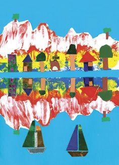 Zart Art Easy Art Craft Activities | Primary School Activities | Australian activities for children/students/kids | Teacher Art Craft Lesson Plans | Australian School Teacher Education Resources Symmetry and reflection