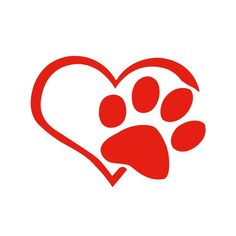 Dog Heart Shape Pattern Paws Car Sticker Footprint Reflective Auto Waterproof Sun Resistant Window Sheeting Windshield Decal Rear Outside Styling Vehicle Decoration Affixed Cover Laptop Truck Accessories Car Stickers, Car Decals, Truck Accessories, Shape Patterns, Footprint, Heart Shapes, Laptop, Window, Sun