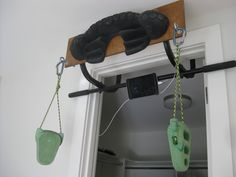 Leave No Trace hangboard/trainer- brilliant