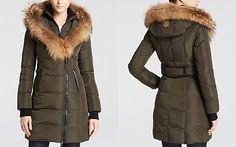 Mackage Kay Lavish Down Coat with Fur Trim