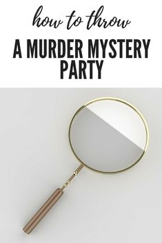 #party #blog #murdermystery #planning