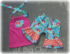 Custom Boutique Clothing Spring Summer Mermaid by LilBugsClothing, $34.50