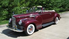 1942 Packard 160 Convertible Coupe, Model 2023
