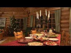 Noël traditionnel de la Finlande