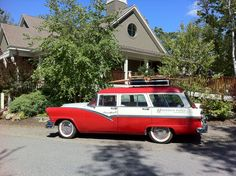 1957 vintage Ford Station Wagon