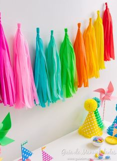 Rainbow Birthday, Baby Birthday, Birthday Parties, Crafts To Do, Easy Crafts, Outdoor Birthday, Polly Pocket, Ideas Para Fiestas, Paint Party