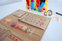 Kit cumpleaños DIY How to celebrate long distance birthdays kit.