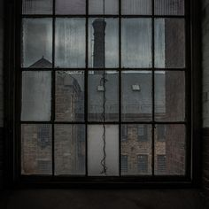 Window of an old factory