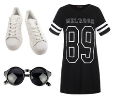 """Untitled #49"" by redililla on Polyvore featuring Ally Fashion and adidas"