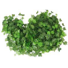 12 x Vigne Lierre Artificiel Plantes de Décoration - Feuille de Patate Douce: Amazon.fr: Cuisine & Maison