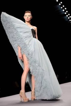 """Haute Couture <3 """"Oops your dress is slipping""""  see cunda"""
