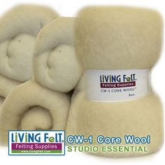 core wool for felting