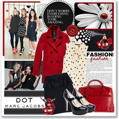 """@Veronica Hernandez """"#MARCtheDOT with Marc Jacobs Fragrance"""" by coeurdcoeurs7 on Polyvore"""