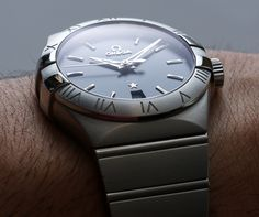 Omega Constellation Co-Axial 38mm Watch #ablogtowatch #omega #timepieces