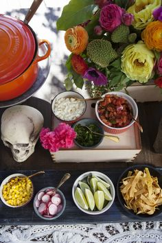 Yesterday, we shared the vibrantDia de los Muertosbashwe threw with Veuve Clicquot,and todayI'm dishing up the deliciousrecipes and sweet treats that we paired with our bubbly. I love any exc...
