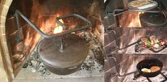 Cooking Tips And Tricks To Make Great Meals Fire Cooking, Cast Iron Cooking, Cooking Tools, Garden Fire Pit, Fire Pit Backyard, Deer Steak, Welded Metal Projects, Log Cabin Living, Cast Iron Cookware