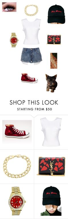 """"""" """" by sb187 ❤ liked on Polyvore featuring T By Alexander Wang, Yves Saint Laurent, Rolex and Vetememes"""