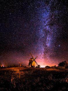 Galaxy rising…..by Jorgen Tannerstedt
