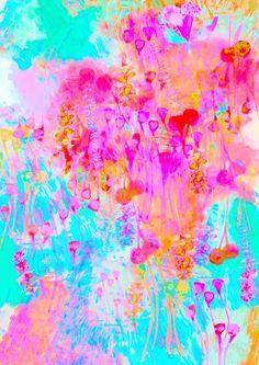 Jenny Andrews Anderson Pink Art