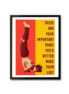 Husker Du These Important Years inspired skateboarder Art Print