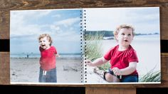 Square Spiral Photo Book from Huggler.com   #photobooks #huggler