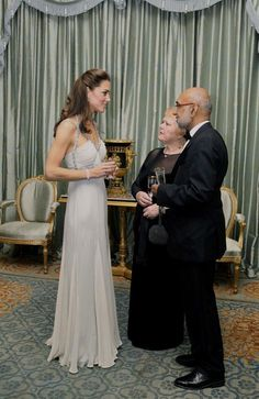 Kate Middleton--gown