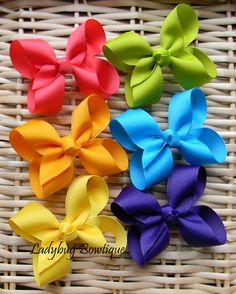 Girls Basic Boutique hair bow