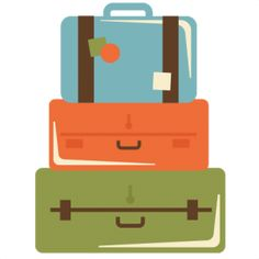 Stacked Suitcases SVG cut files suitcase svg files for scrapbooking vacation svg files free svgs, Love this site.