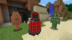Doctor Who comes to Minecraft on Xbox