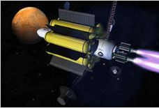 Futuristic spacecraft: A look at the not-too distant future and the VASMIR Engine.
