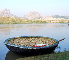 Coracle of Hampi